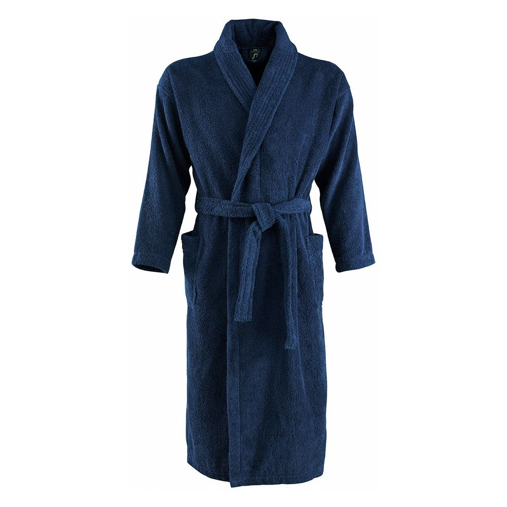 Халат унисекс Palace, темно-синий, L/XL домашние халаты pastilla домашний халат лира l xl