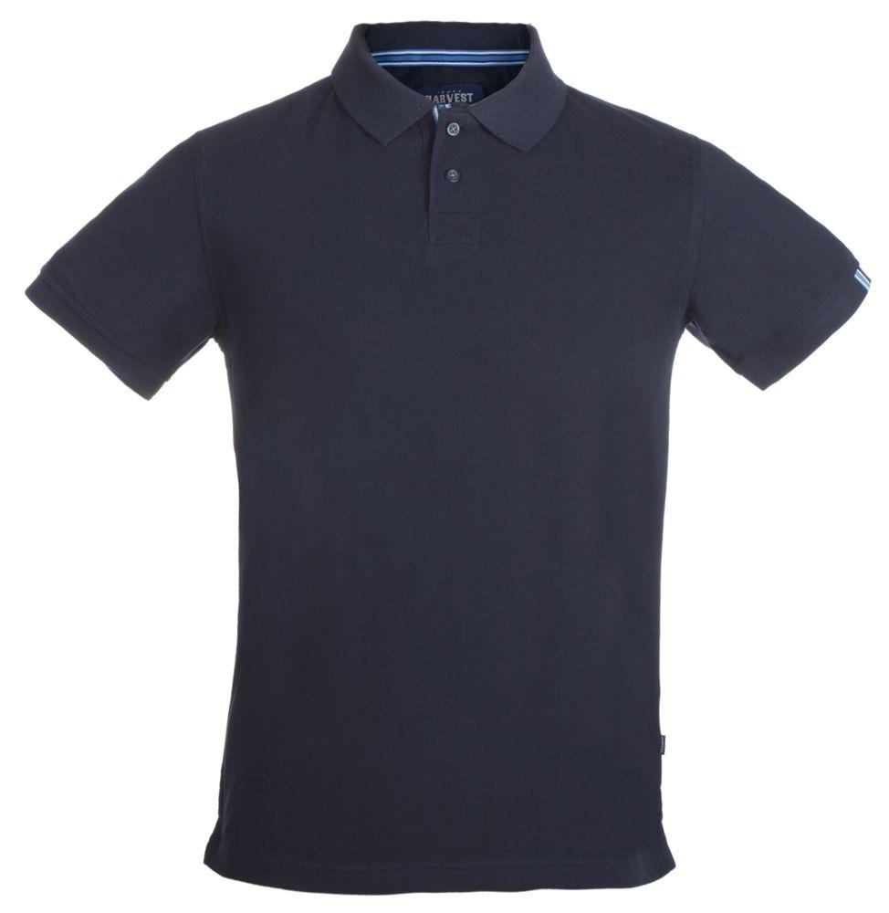 Рубашка поло мужская AVON, темно-синяя, размер XXL фото