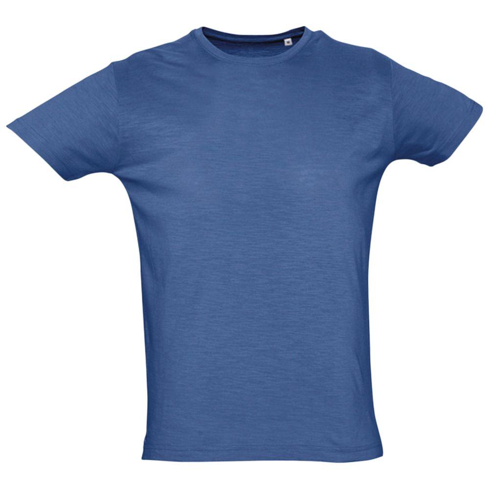 Футболка мужская FIRST 150 темно-синяя, размер S