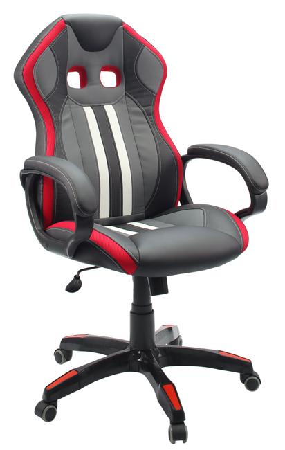Кресло для геймеров Мустанг, красное