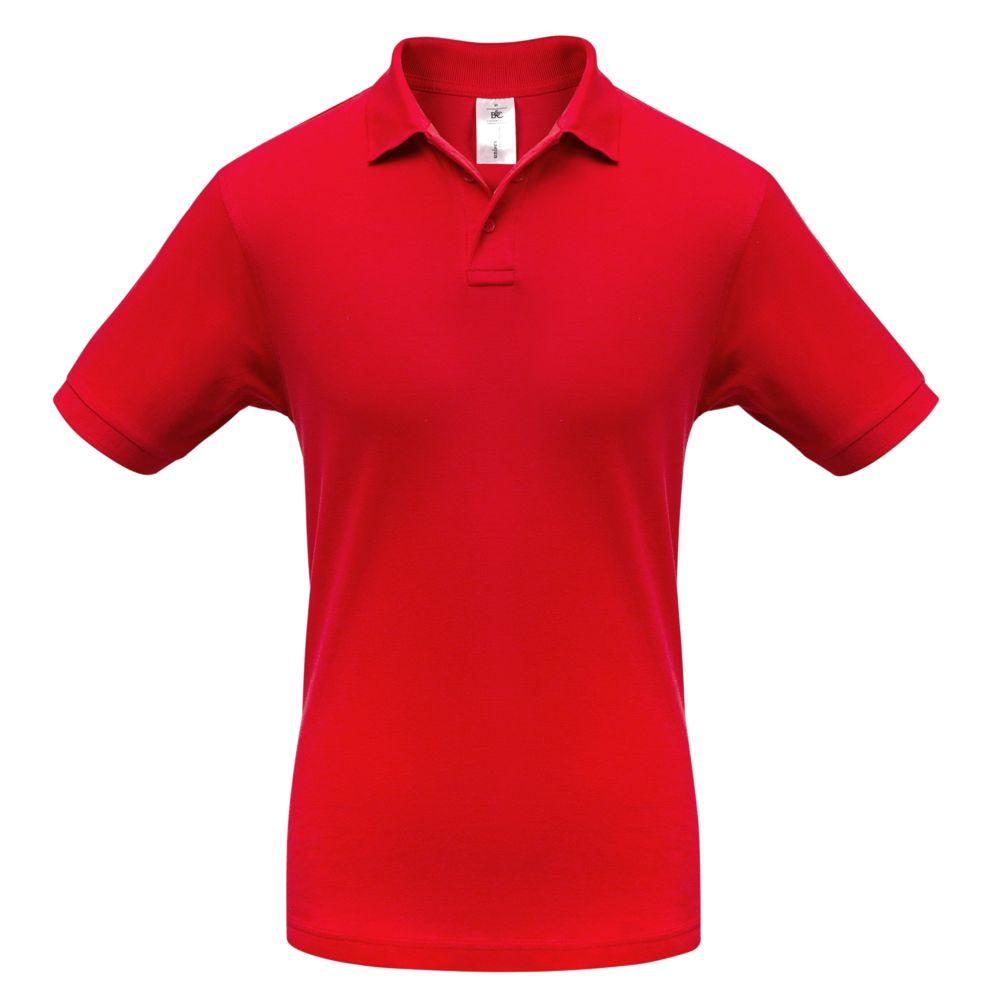 Рубашка поло Safran красная, размер L