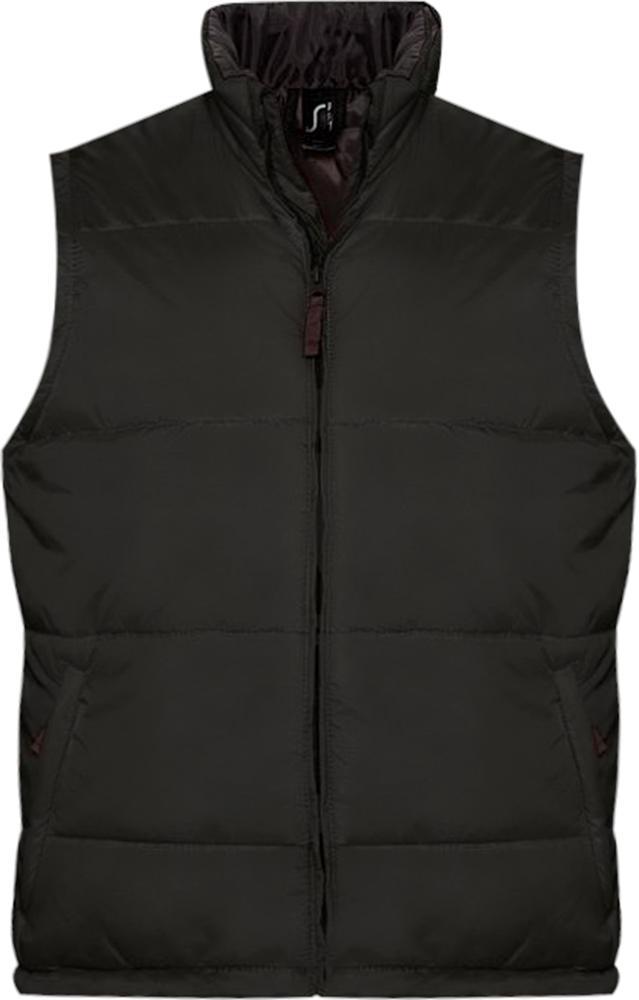 Жилет WARM черный, размер 5XL