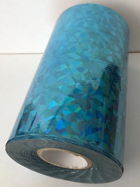 цена Фольга для горячего тиснения Blue F04 (100мм) онлайн в 2017 году