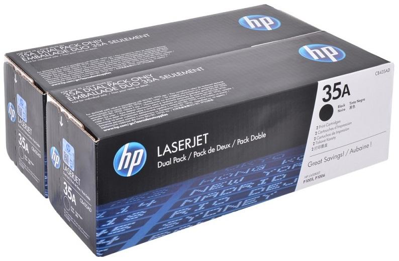 Фото - Тонер-картридж HP 35A CB435AF картридж лазерный target tr 35a cb435a
