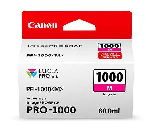 PFI-1000M Magenta 80 мл (0548C001) colorwave300 magenta 350 мл 5834b007