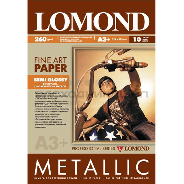 Фото - Lomond Metallic Semi Glossy Полуглянцевая Fine Art Gallery, А3+, 260 г/м2, 10 листов чайная пара elan gallery нежные цветы 210 мл 4 предмета