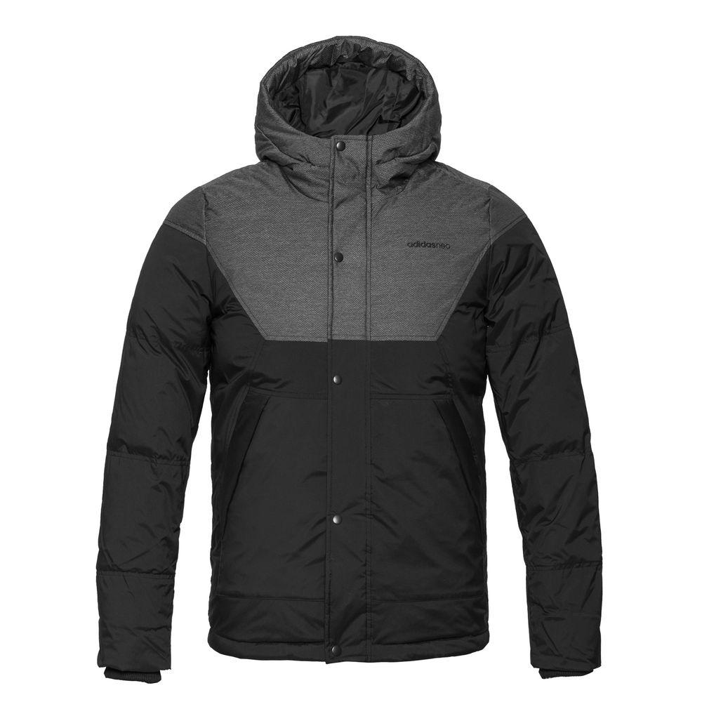 Куртка мужская Down Parka, черная, размер L