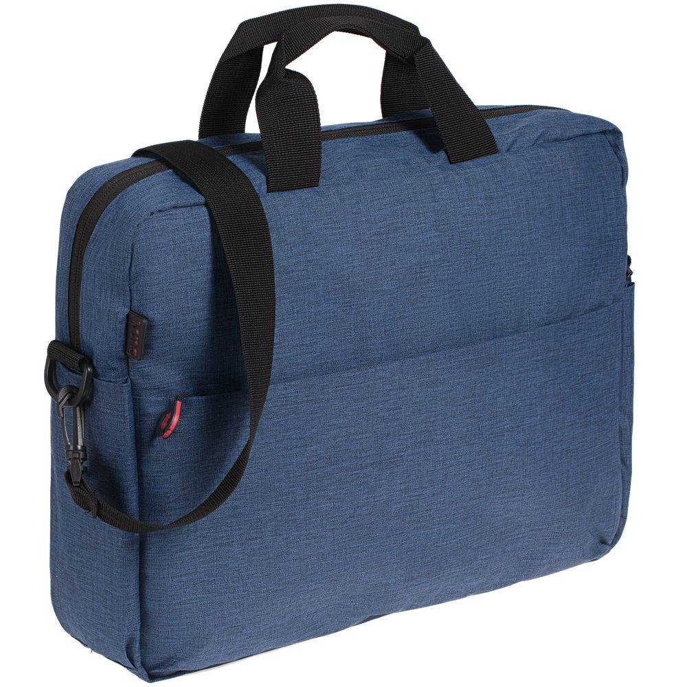 Сумка для ноутбука Burst Locus, синяя сумка для ноутбука burst locus синяя