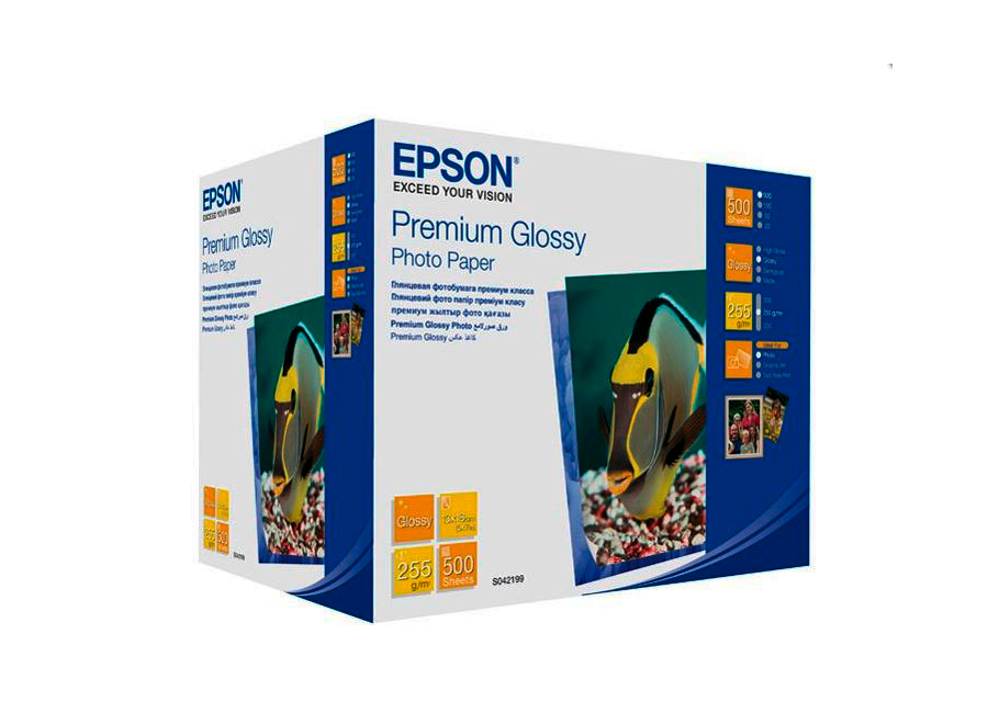 Epson Premium Glossy Photo Paper A6, 255 г/м2, 500 листов (C13S041826) шина continental contisportcontact 6 255 35 r19 96y