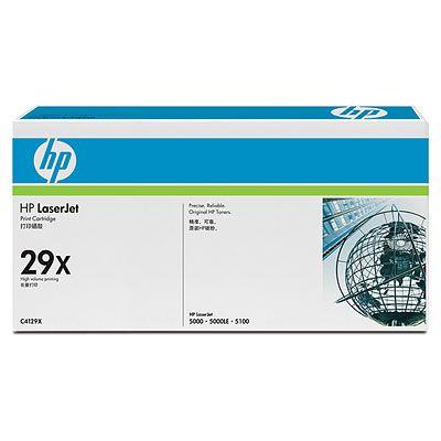 Тонер-картридж HP C4129X hp c4129x черный картридж лазерный тонер картридж повышенная черный
