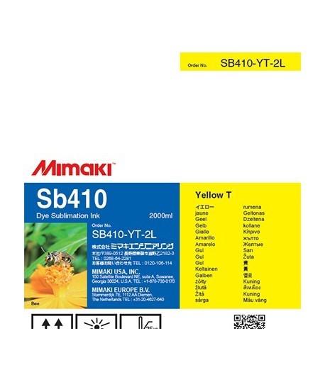 Фото - SB410 DYE Sublimation ink Yellow 2L sb420 dye sublimation ink blue 2l