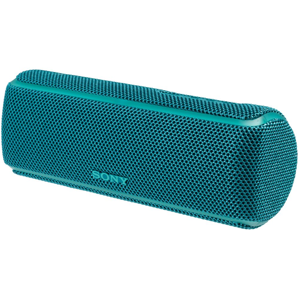 Фото - Беспроводная колонка Sony XB21L, синяя колонка порт sony srs xb01 зеленый 3w 2 0 bt 20м 600mah 1xaa без бат srsxb01g ru2
