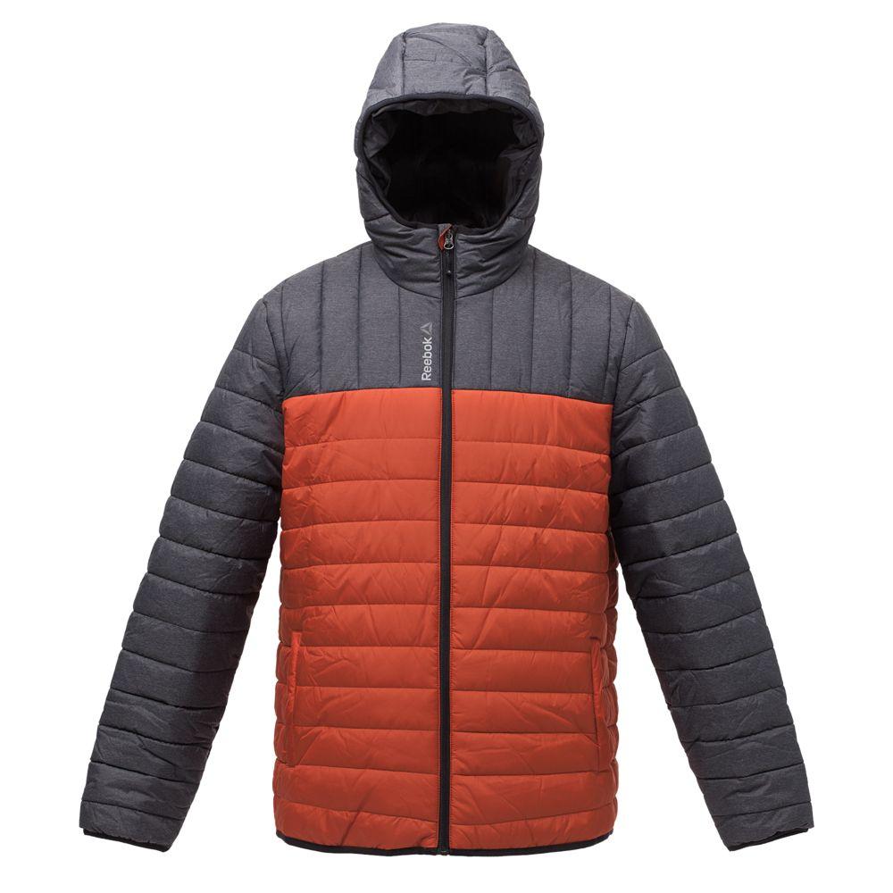 Куртка мужская Outdoor, серая с оранжевым, размер XL