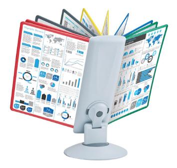Фото - Настольная система ProMega Office вращающаяся (A4, серая) блесна вращающаяся bluefox 10 г bff4 bt