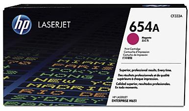 Тонер-картридж HP 654A CF333A тонер картридж hp q6473a