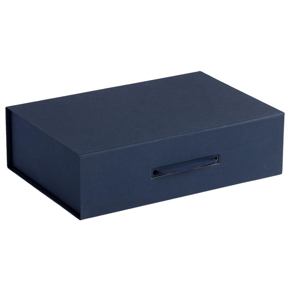 Коробка Case, подарочная, синяя недорого