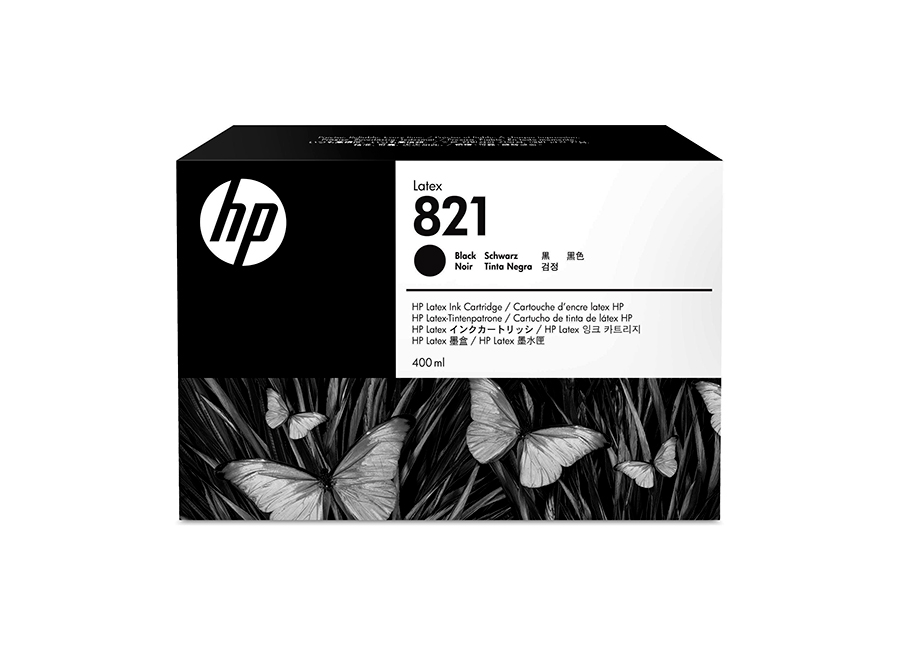 HP Latex 821 Black 400 мл (G0Y89A)