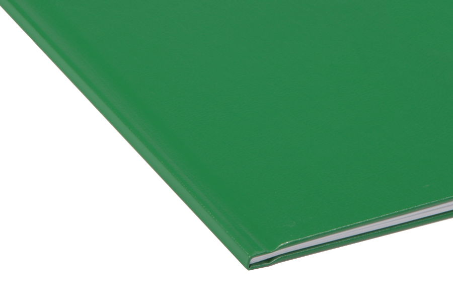 Папка для термопереплета Unibind, твердая, 100, зеленая