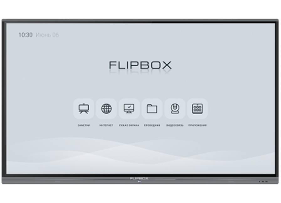 Фото - Интерактивный комплекс Flipbox 4.0 86, UHD, 20 касаний, Android 8.0, встраиваемый ПК MT43-i7 (i7, 8G/256G SSD), Win10 promethean activpanel titanium 70 uhd android 8 0 по activinspire pro
