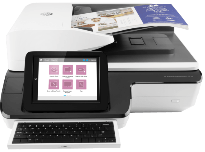 HP Scanjet Enterprise Flow N9120 fn2 (L2763A) сканер hp scanjet enterprise flow 7000 s3 l2757a