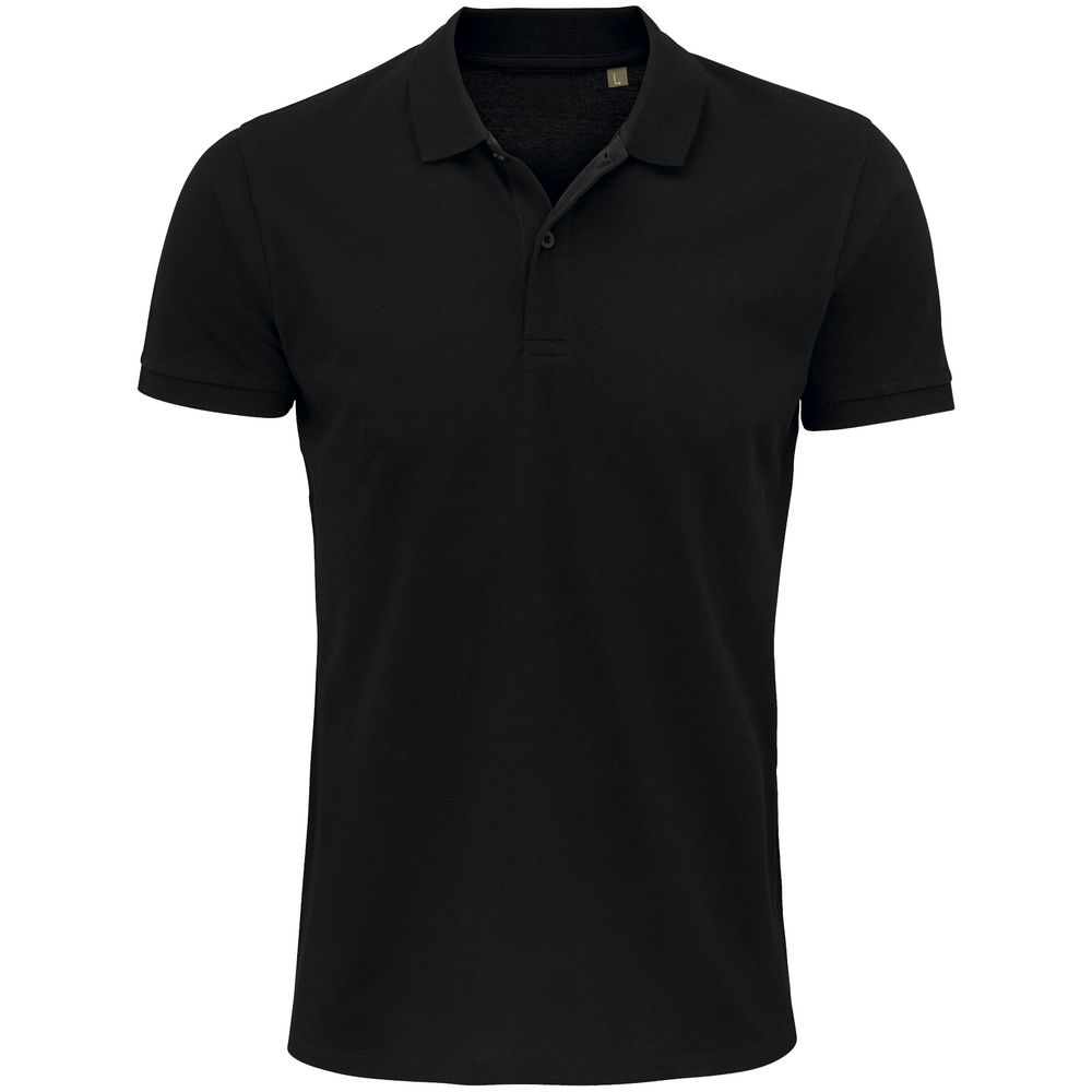 Рубашка поло мужская Planet Men, черная, размер XXL