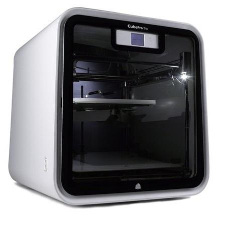 Фото - 3D Systems CubePro Trio 3d systems cube printer gen 3 grey