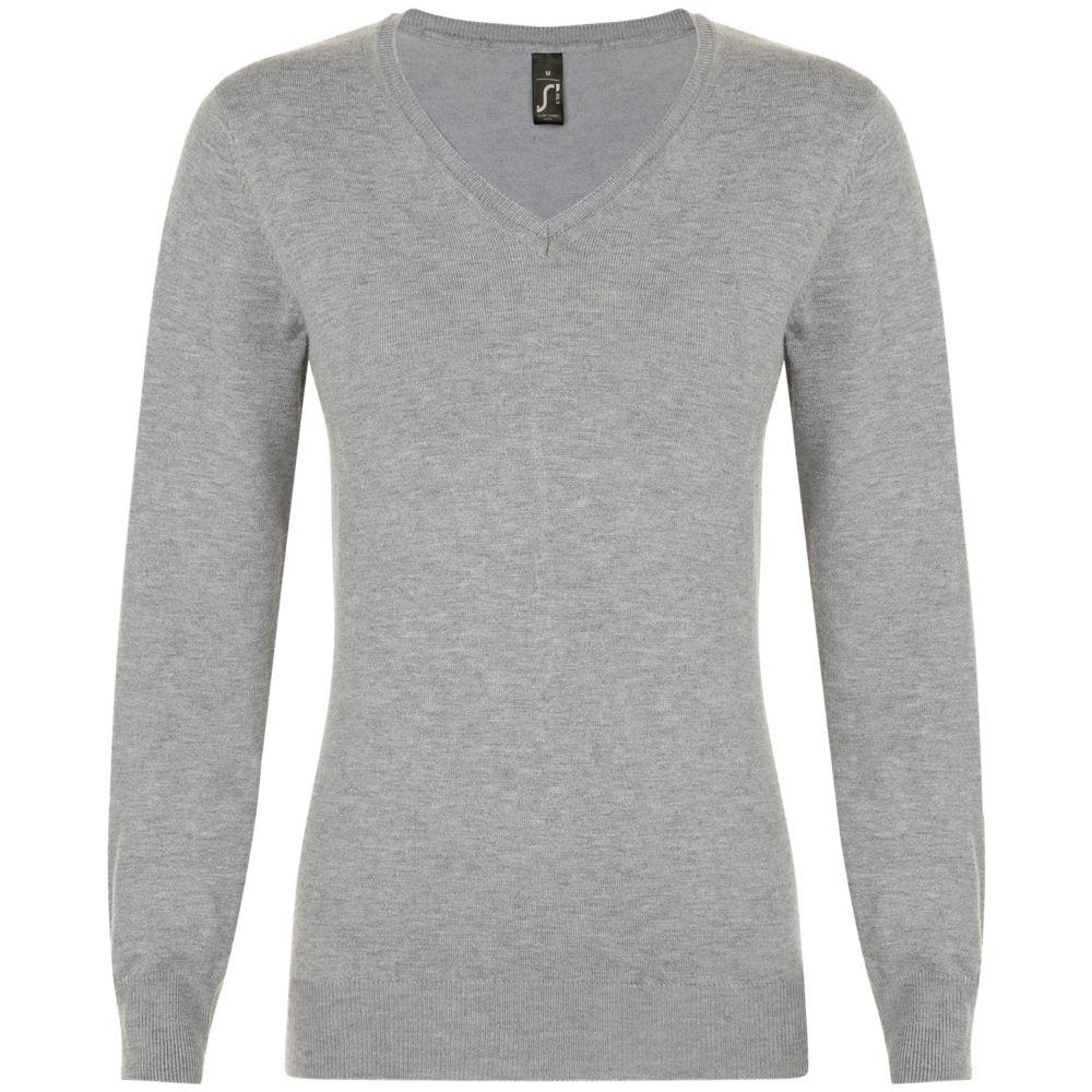 Пуловер женский GLORY WOMEN серый меланж, размер S халат женский essential серый размер s