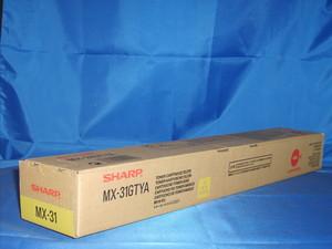 Тонер-картридж желтый Sharp MX-31GTYA тонер картридж sharp mx51gtya желтый 18 000 страниц