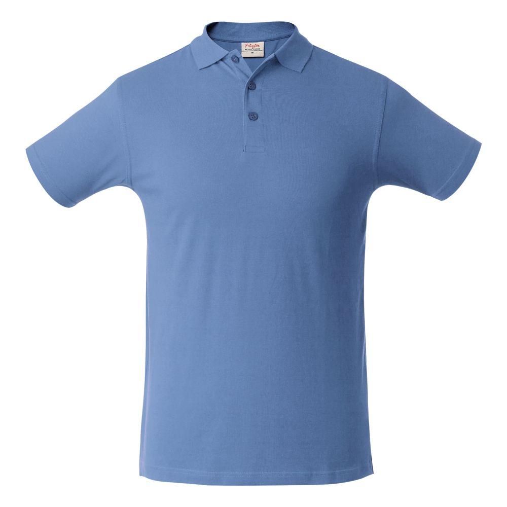 Рубашка поло мужская SURF голубая, размер XL