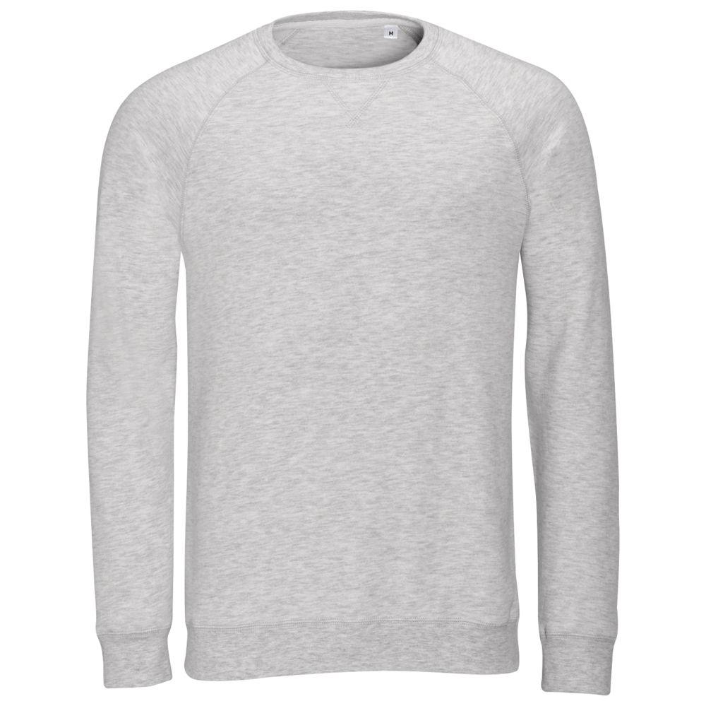 Толстовка STUDIO MEN серый меланж, размер XL толстовка studio women серый меланж размер xs