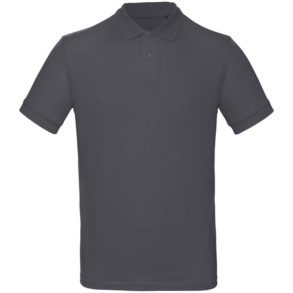 Рубашка поло мужская Inspire темно-серая, размер 3XL фото