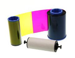 Фото - Лента для полноцветной печати YMCK 800012-445 лента для полноцветной печати evolis ymcko r3011