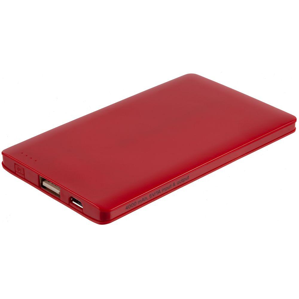 Фото - Внешний аккумулятор Easy Trick, 4000 мАч, красный cbr 4040 white внешний аккумулятор 4000 мач