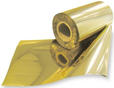 Фольга -360C золото (0.2x50 м) фольга для маникюра фикс прайс