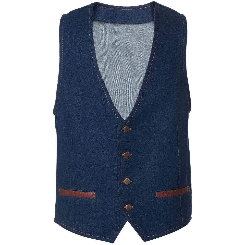 Жилет Grand Bouffe, синий, размер XL платье oodji collection цвет синий 24007026 37809 7500n размер xl 50