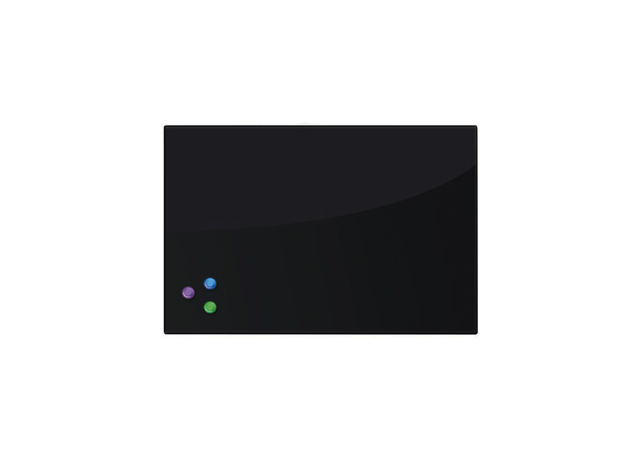 Фото - Brauberg 45x60 см, черная, 3 магнита (236745) 45x45 см оранжевая 3 магнита 236738