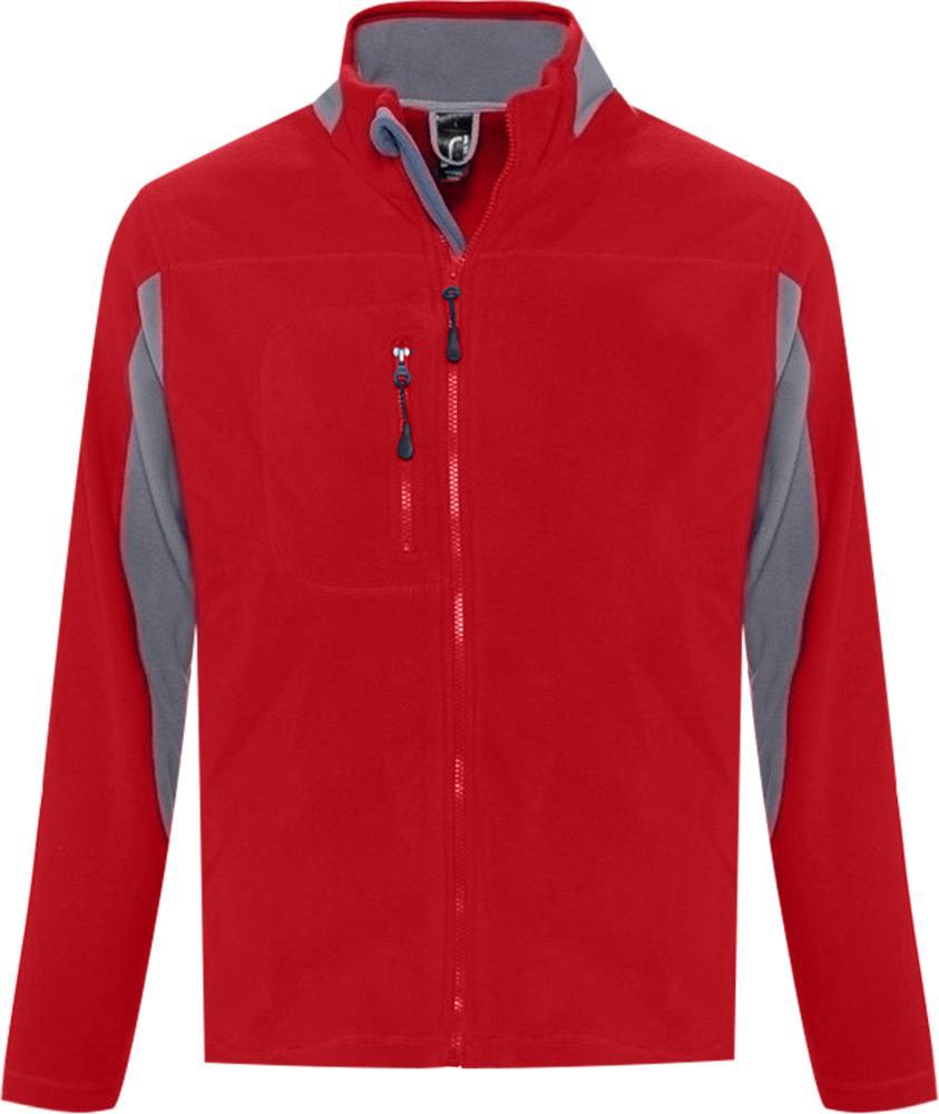 Куртка мужская NORDIC красная, размер S