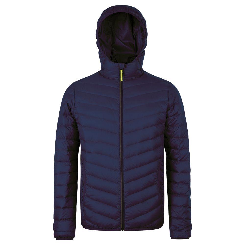 Куртка пуховая мужская RAY MEN темно-синяя, размер M куртка мужская finn flare цвет темно зеленый w18 22011 размер m 48