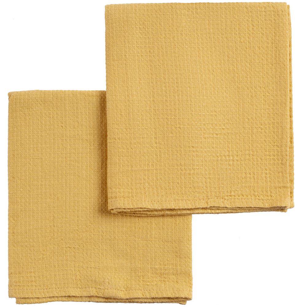 Набор полотенец Fine Line, желтый набор полотенец fine line красный