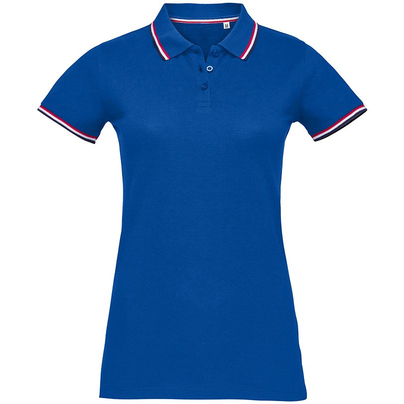 Рубашка поло женская PRESTIGE WOMEN ярко-синяя, размер L рубашка поло женская prestige women ярко синяя размер m