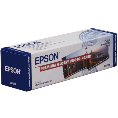 Epson Premium Glossy Photo Paper 24 166 г/м2, 0.610x30.5 м, 50.8 мм (C13S041390)