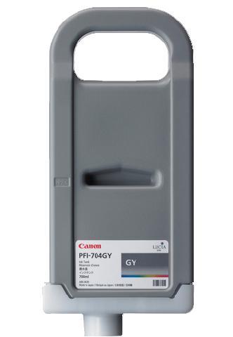 Фото - Canon PFI-704GY Gray 700 мл (3870B005) крем naobay equilibria balaning cream объем 50 мл