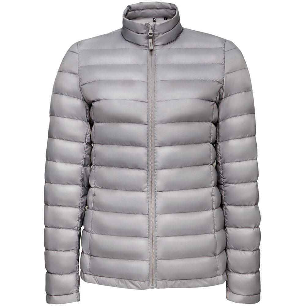 Куртка женская WILSON WOMEN серая, размер XL куртка женская wilson women серая размер m