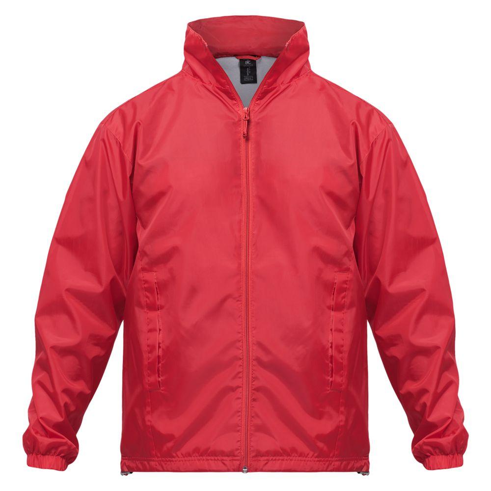 Ветровка ID.601 красная, размер XXL ветровка женская id 601 оранжевая размер xxl