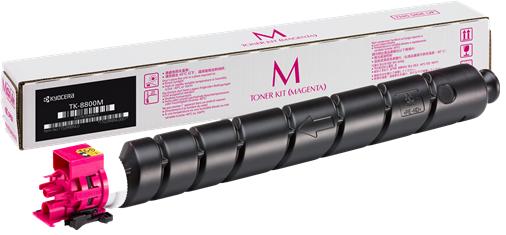 Фото - Тонер-картридж Kyocera TK-8800M тонер картридж kyocera tk 8800m 20 000 стр magenta для p8060cdn