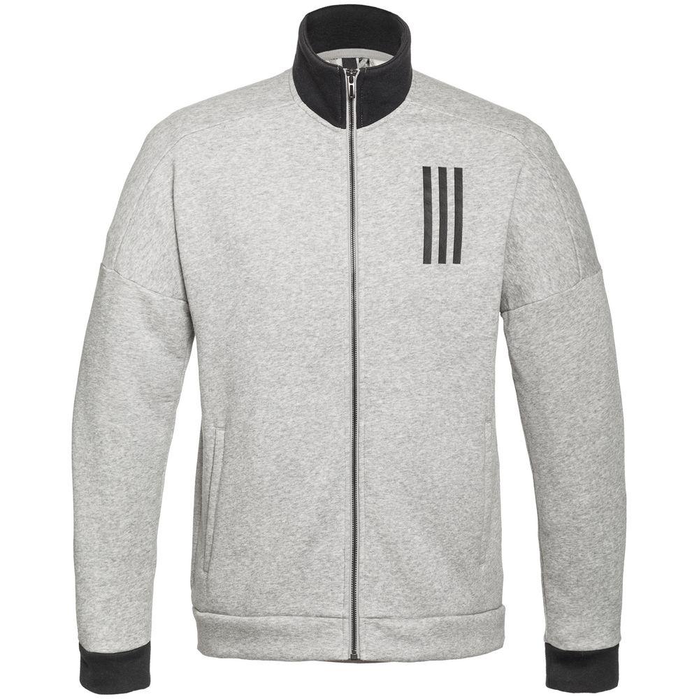 Куртка тренировочная мужская SID TT, серый меланж, размер XL куртка тренировочная женская на молнии sst tt синяя размер xl