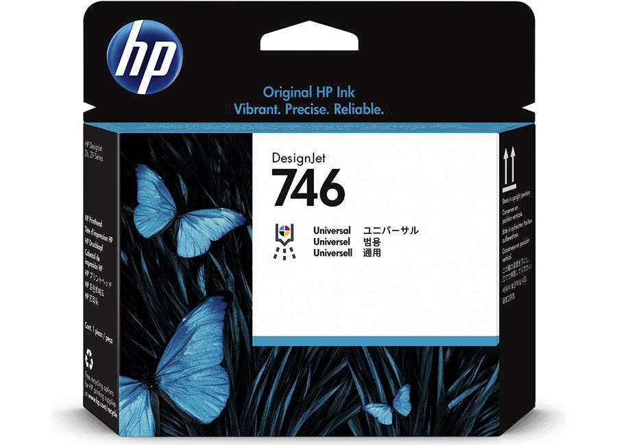 Печатающая головка HP 744 Designjet Photo Black & Cyan (F9J86A) hp designjet t830 36 f9a30a