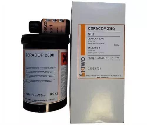 Фото - Фотоэмульсия KIWO Ceracop 2300 (0.9 кг) универсальная фотоэмульсия kiwo azocol z1 0 9 кг