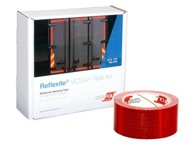 Oralite/Reflexite VC104+ Rigid Grade для жесткого борта, красная 0.05x12.5 м oralite reflexite vc104 rigid grade commercial для жесткого борта желтая 0 05x50 м