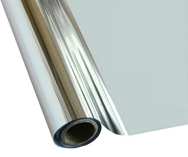 Фольга для термопереноса T.Foil M20 Metallic Silver, серебряная (0.3х25 м)